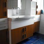 Komplette Waschtischanlage