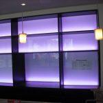 Schrank mit LED Beleuchtung